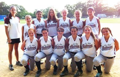 Image of Lady Astros Girls Softball Team 2012