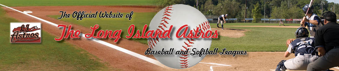 Long Island Astros Baseball and Softball League